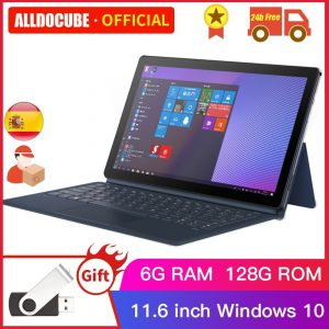 Alldocube KNote 5 Pro 11.6 inch Intel Tablets Windows10 Gemini Lake N4000 6GB RAM 128GB ROM 1920*1080 IPS Tablet PC KNote5 win10