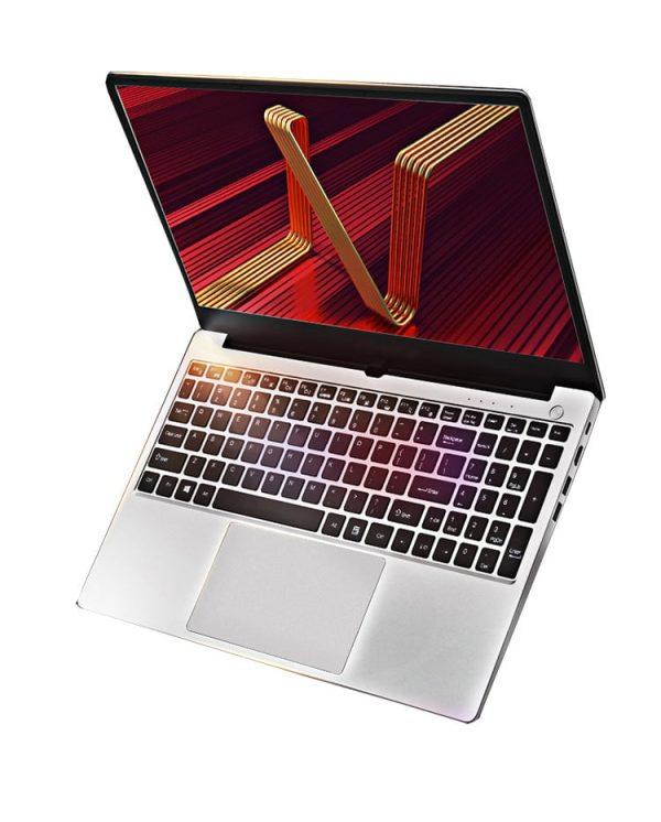 "Free Shipping 15.6"" Silvery Metal Laptop Ultrabook Core i7 10510U i5 10210U 8M Cache Type-c Backlit keyboard Quad Core laptop"