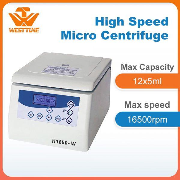 H1650-W Labpratory Tabletop High Speed Micro Centrifuge