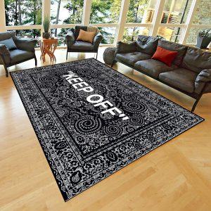 KEEP OFF Classic Patterned Carpet , Fan Carpet Non Slip Floor Carpet,Teen's Carpet,Area Rug