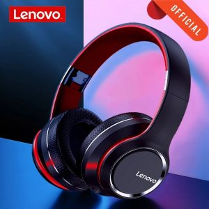 Lenovo HD200 Bluetooth Wireless Stereo Headphone BT5.0 Long Standby Life With Noise Cancelling for Xiaomi iphone Lenovo Headset