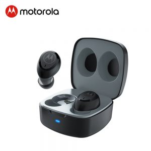Motorola True Wireless Bluetooth 5.0 Earphone Noise Reduction Sports Headset support Smart Voice Alexa, Siri, Google Assistant