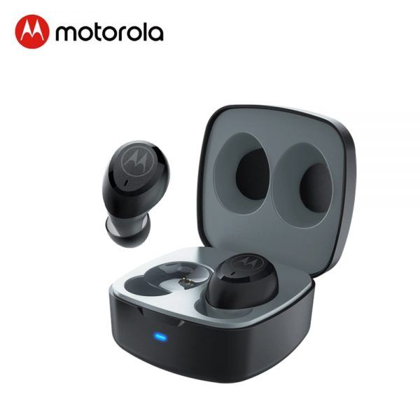 Motorola True Wireless Bluetooth 5.0 Earphone Noise Reduction Sports Headset support Smart Voice Alexa, Siri, Google Assistant