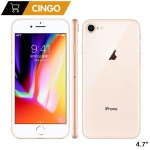 """Original Apple iPhone 8 iphone8 2GB RAM 64GB/256GB Hexa-core IOS 3D Touch ID 12.0MP Camera 4.7"""" inch Apple Fingerprint 1821mAh"""