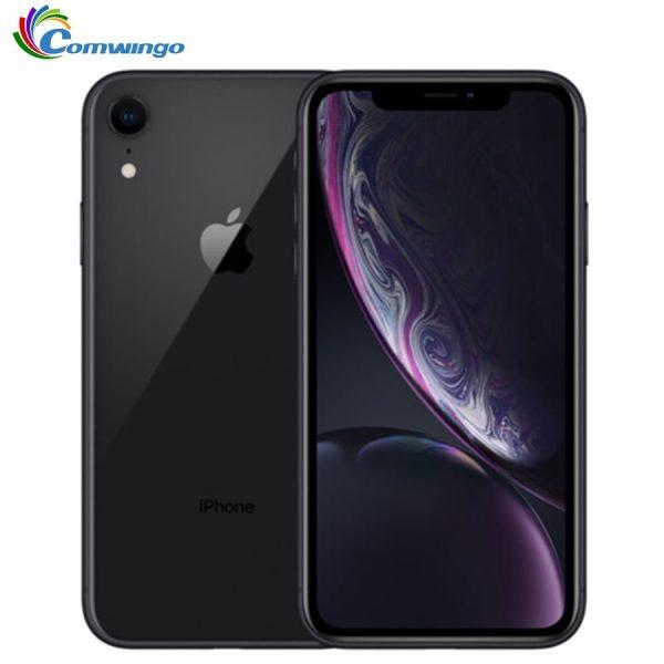 "Original Apple iPhone XR xr 2942mAh RAM 3GB ROM 64GB/128GB /256G Unlocked Mobile Phone 4G LTE 6.1"" Hexa-core 12MP&7MP 2018"