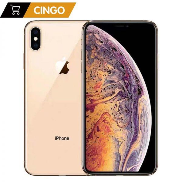 "Original Unlocked Apple iPhone XS iphone xs 5.8"" Retina OLED Display 4G LTE 2658mAh A12 Bionic Chip 4G RAM 64GB/256GB/512GB ROM"