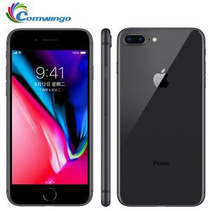 Original Unlocked Apple iphone 8 / iphone 8 Plus 3GB RAM 64-256GB ROM Hexa Core iOS 12MP Fingerprint LTE Mobile Phone