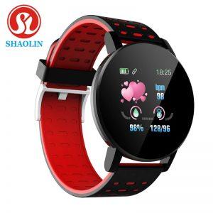 SHAOLIN Smart Band Sport Tracker For Android IOS Bluetooth Smart Watch Men Blood Pressure Smartwatch Women Watches