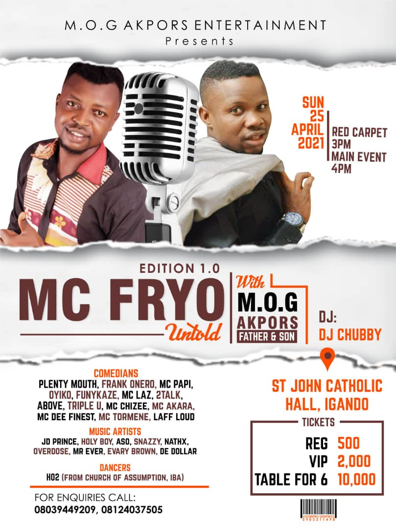 EDITION 1.0 Mc FRYO (FATHER AND SON) UNTOLD